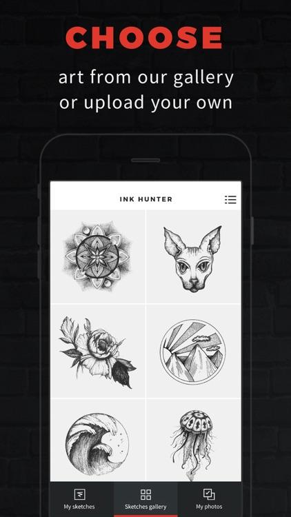 INKHUNTER Try Tattoo Designs screenshot-0