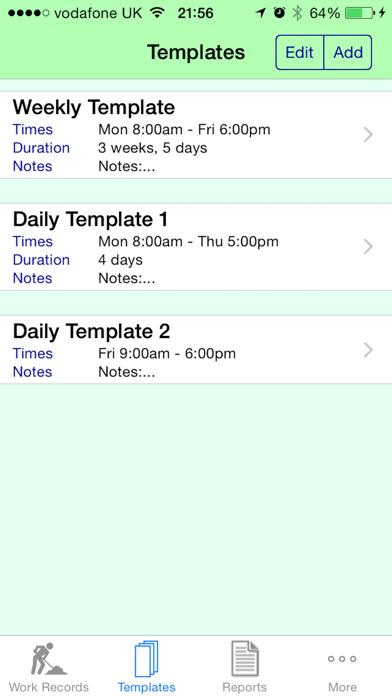 Pay Diary Pro - Cloud screenshot three