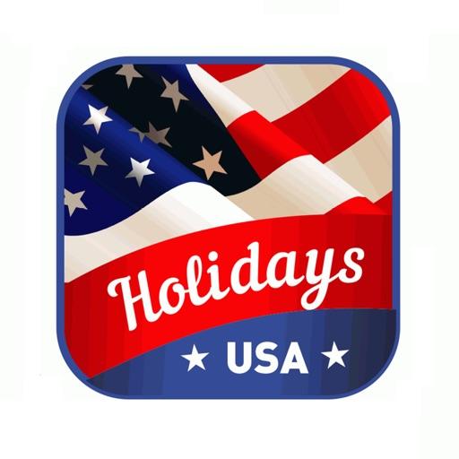 Holidays USA StickerPack icon