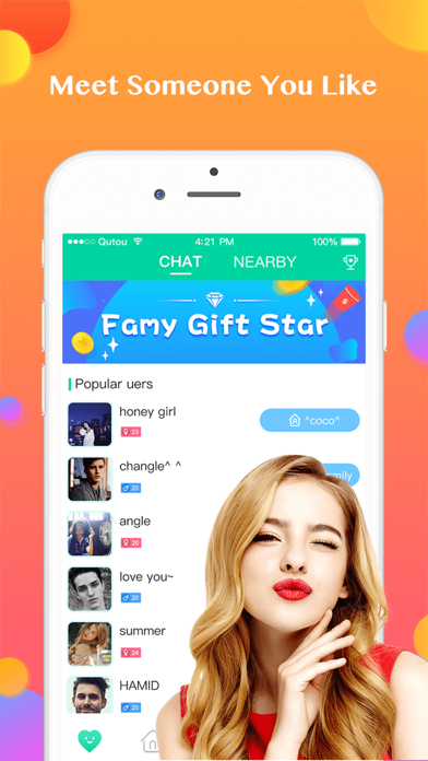 Famy-Group Voice Chat Rooms Screenshot