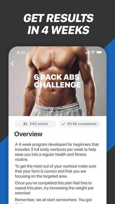 Fitness Buddy+ Train At Home Screenshots
