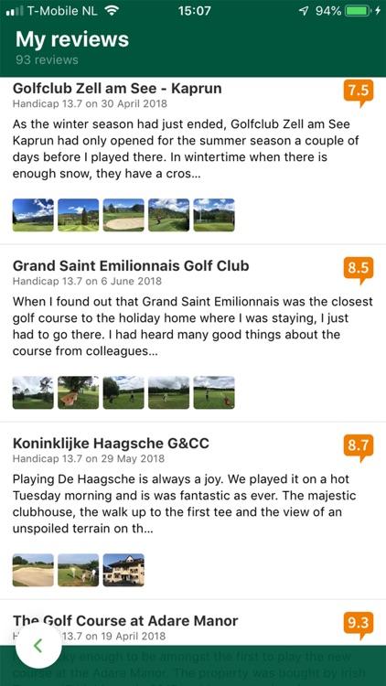 Leadingcourses: golf courses screenshot-7