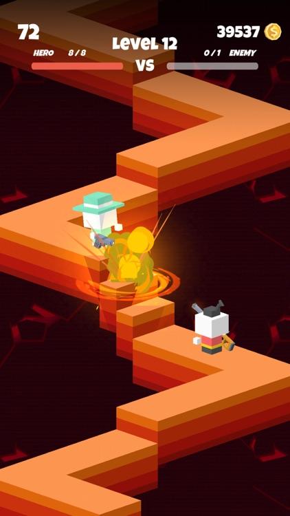 Survival Shoot-Block Gun Games screenshot-0