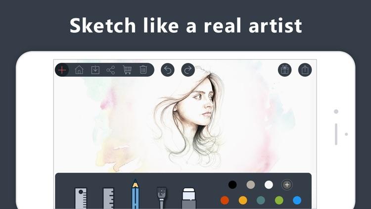 Drawing Pad & Doodle Paint Art screenshot-3