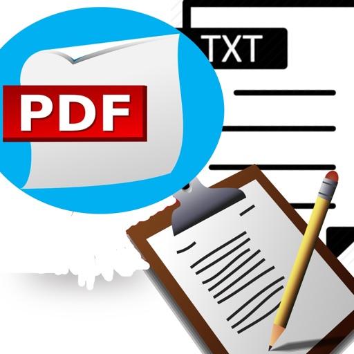 Pdf Txt Clipboard Reader