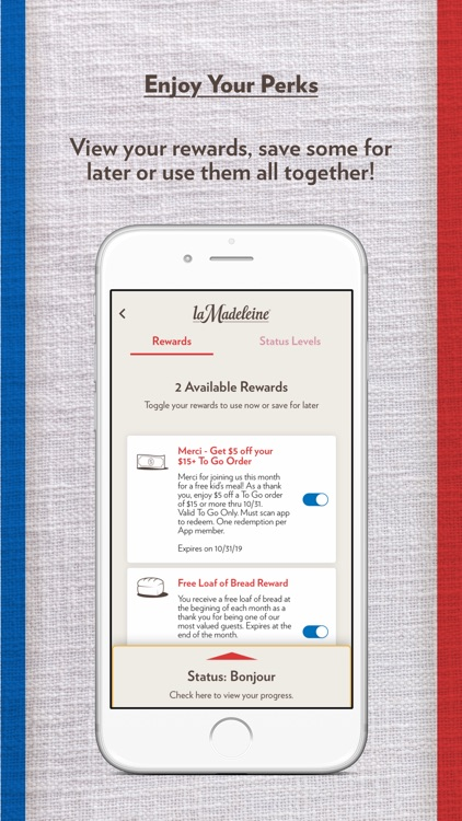 la Madeleine Rewards screenshot-3