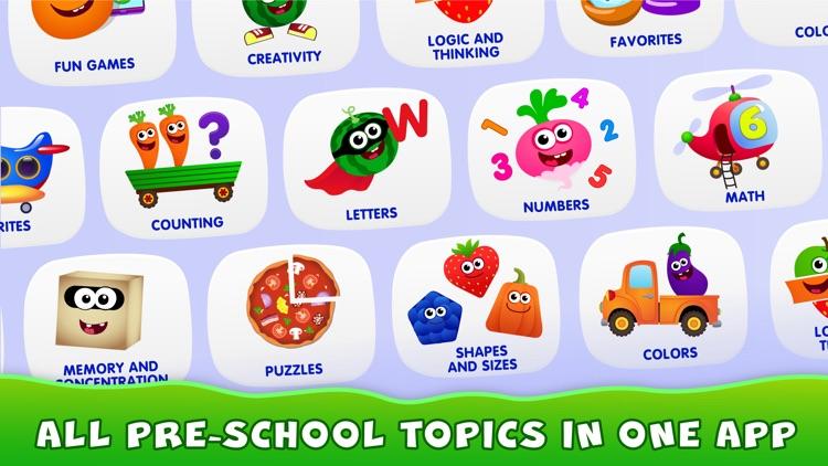 Kids Games! Learning 4 Toddler