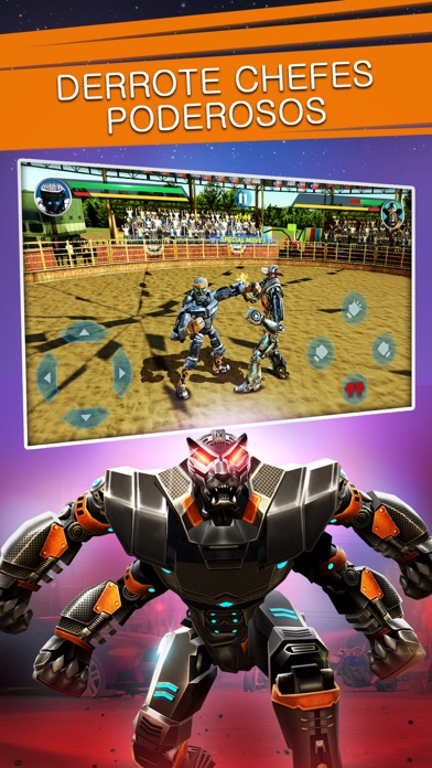 Screenshot for Real Steel in Portugal App Store