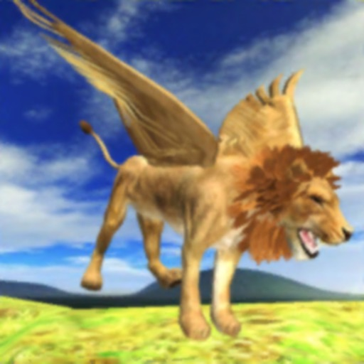 Flying Lion Simulator iOS App