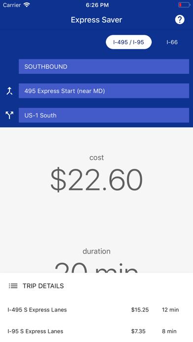 Express Saver screenshot two