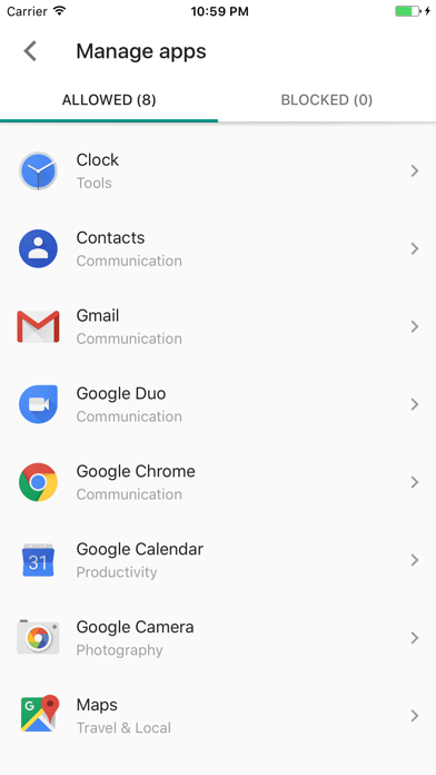 Screenshot for Google Family Link for parents in South Africa App Store