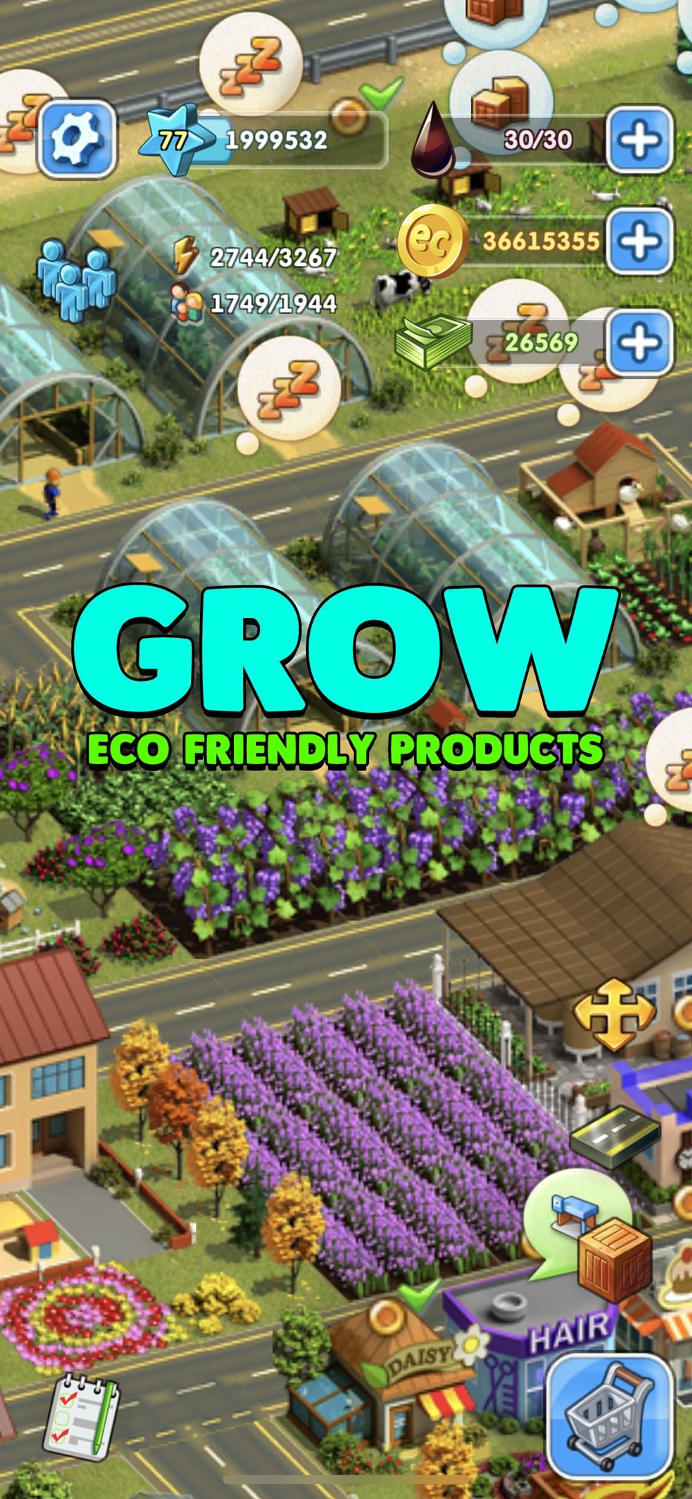 Eco City: Farm and Build hack tool