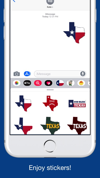 Texas emojis - USA stickers screenshot-4