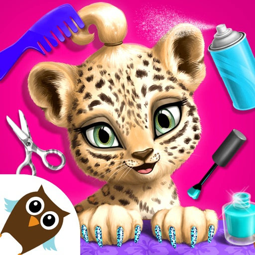 Jungle Animal Hair Salon!