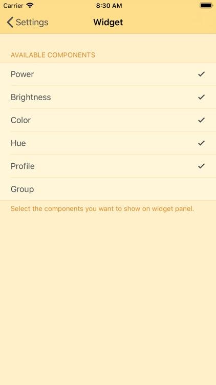 Lampki smart bulbs controller screenshot-4