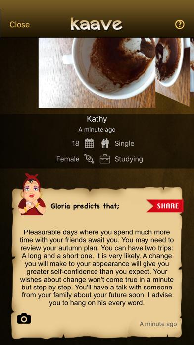Kaave - Coffee Fortune Readingのおすすめ画像4