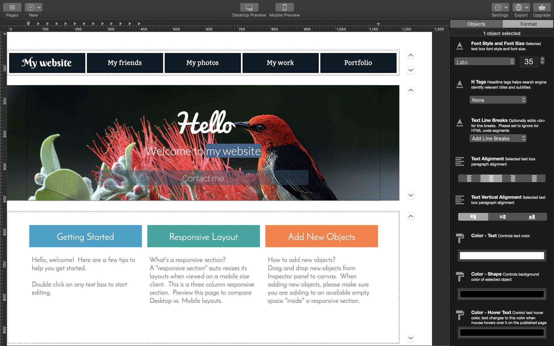 Wolf 2 Responsive Designer 3.03 Mac 破解版 网站设计软件