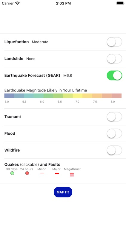 Temblor screenshot-1