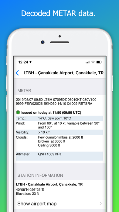 Aeroplus Aviation Weather review screenshots