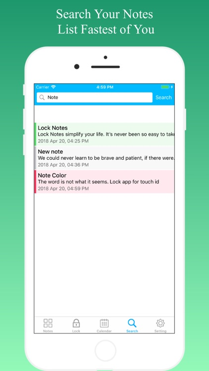 Lock Notes - Sticky Notes screenshot-5