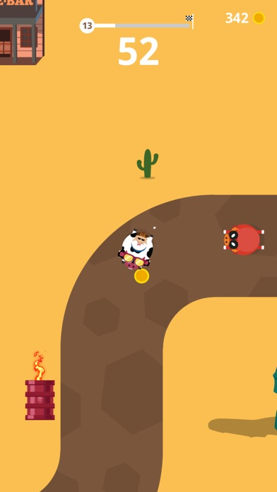 Run Race - Drift Funny Animals screenshot 1