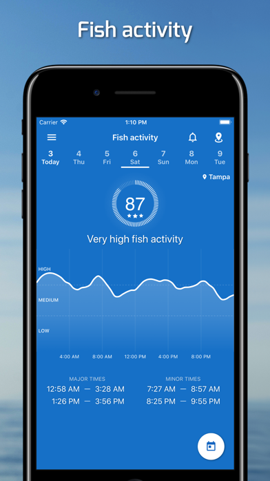 Fishing Points - Fishing App Screenshot