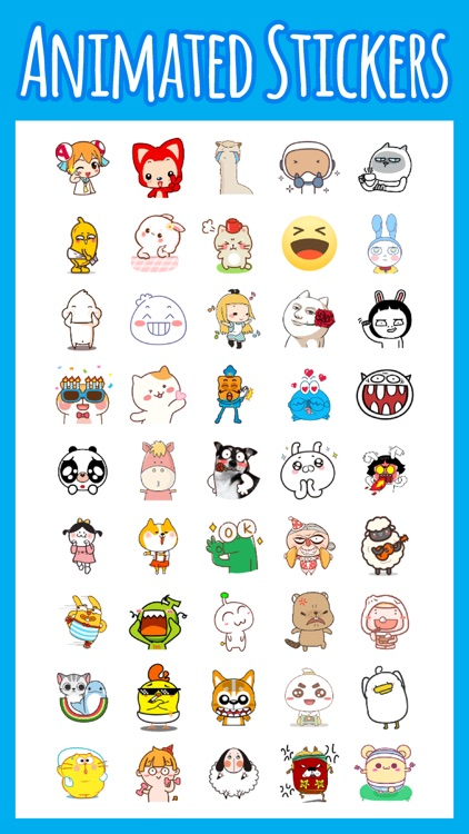 Stickers for All Messages App!