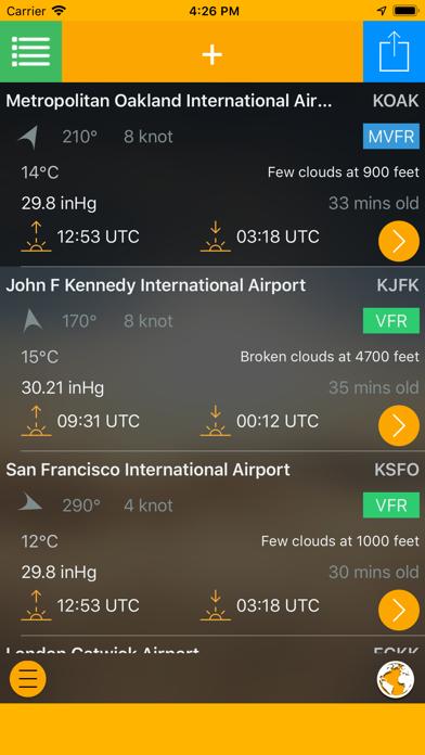 Easy Aviation Weather - WX Screenshot