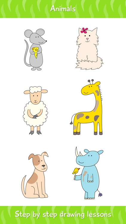 How to Draw Animals Easy