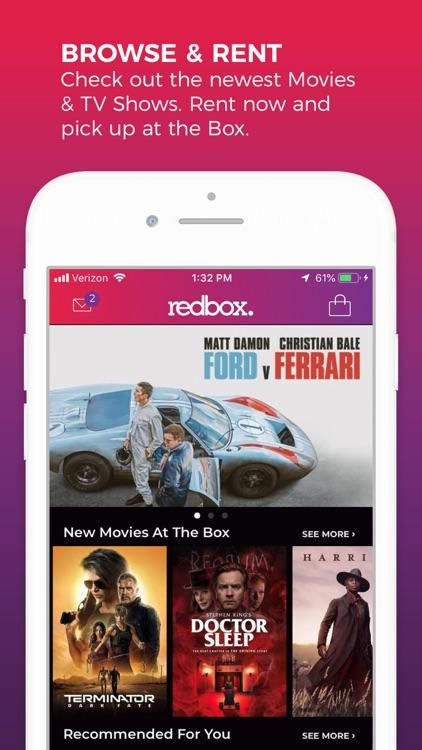 REDBOX: Rent, Stream & Buy screenshot-0