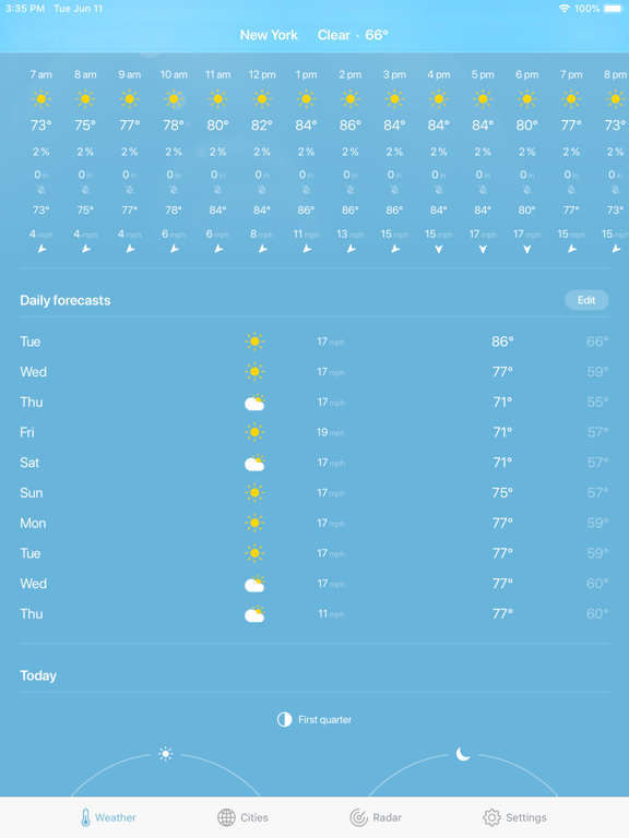 Weather · screenshot 14