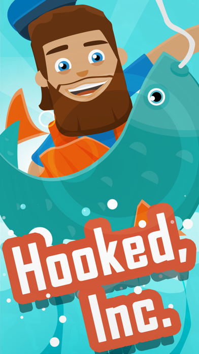 Screenshot for Hooked Inc: Fisher Tycoon in United States App Store