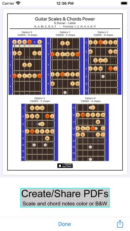 Guitar Scales & Chords Power screenshot-5