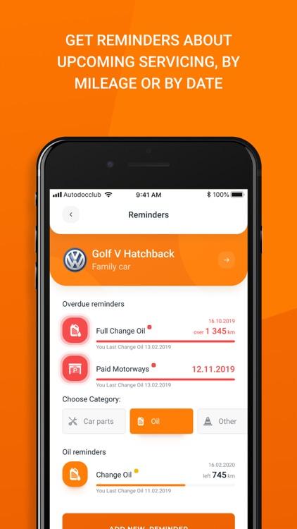 AUTODOC CLUB - Car maintenance screenshot-7