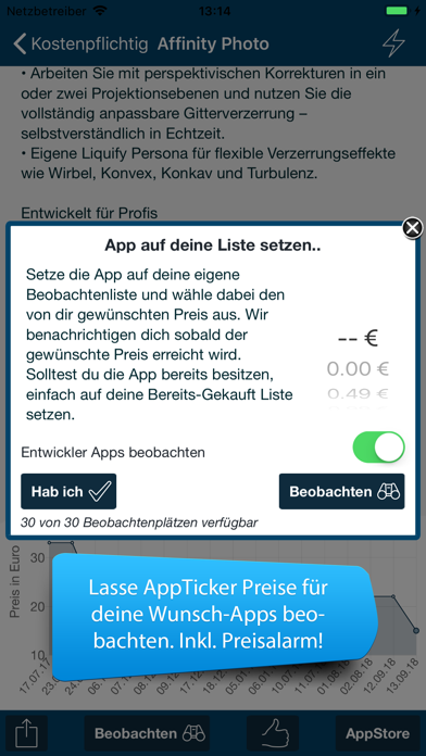 AppTicker NewsScreenshot von 2