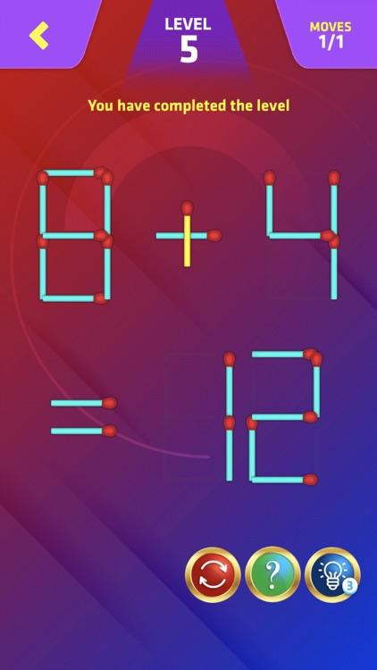 Matchstick Puzzle King Pop screenshot-5