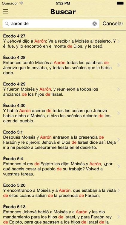 La Biblia Reina Valera Español screenshot-3