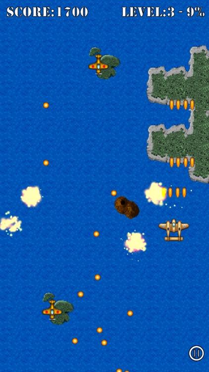 Pacific Wings Classic screenshot-3
