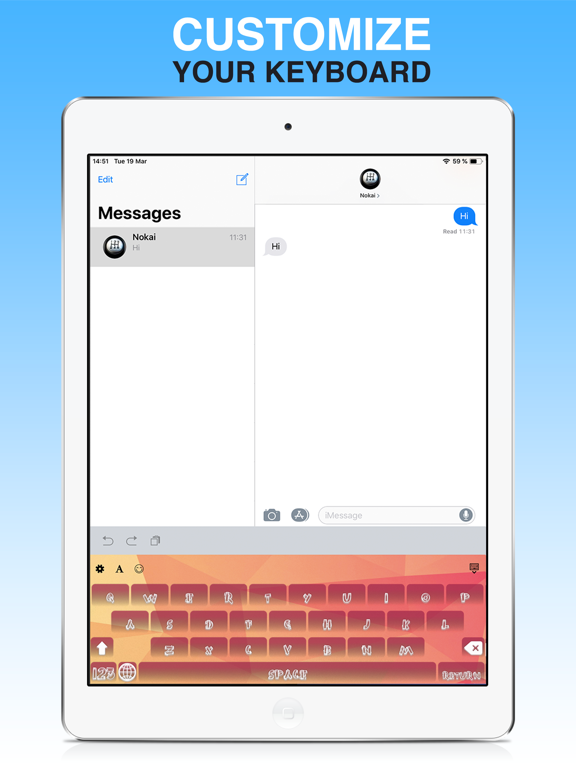 Keyboard - PimpKey screenshot 5