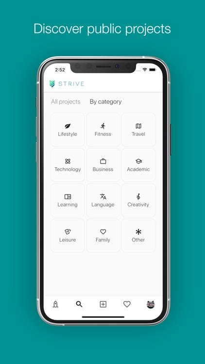 Strive: achieve goals together screenshot-7