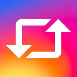 Repost for Instagram ⋮
