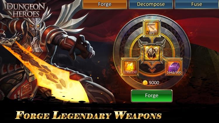 Dungeon & Heroes: 3D RPG screenshot-3