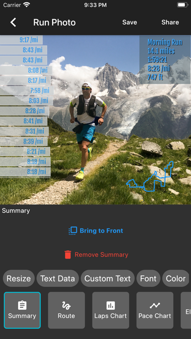 Run Photo - for Garmin, Stravaのおすすめ画像5