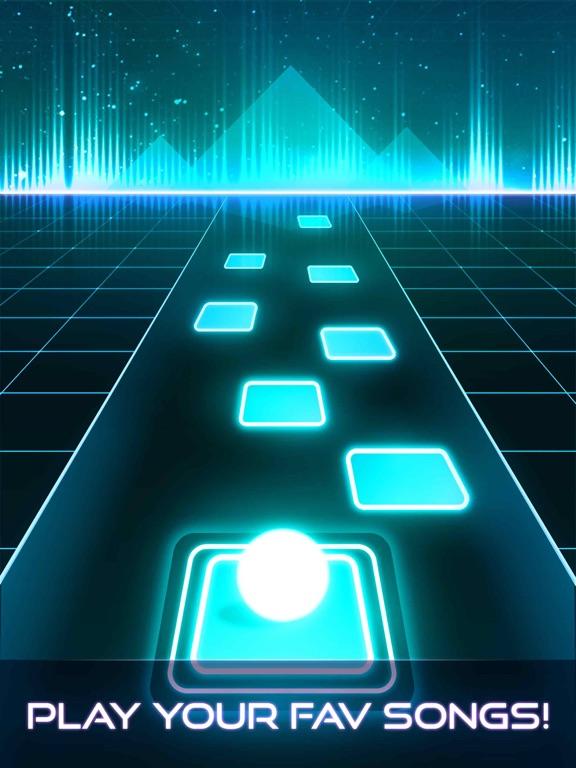Скачать игру Tiles Hop - EDM Rush