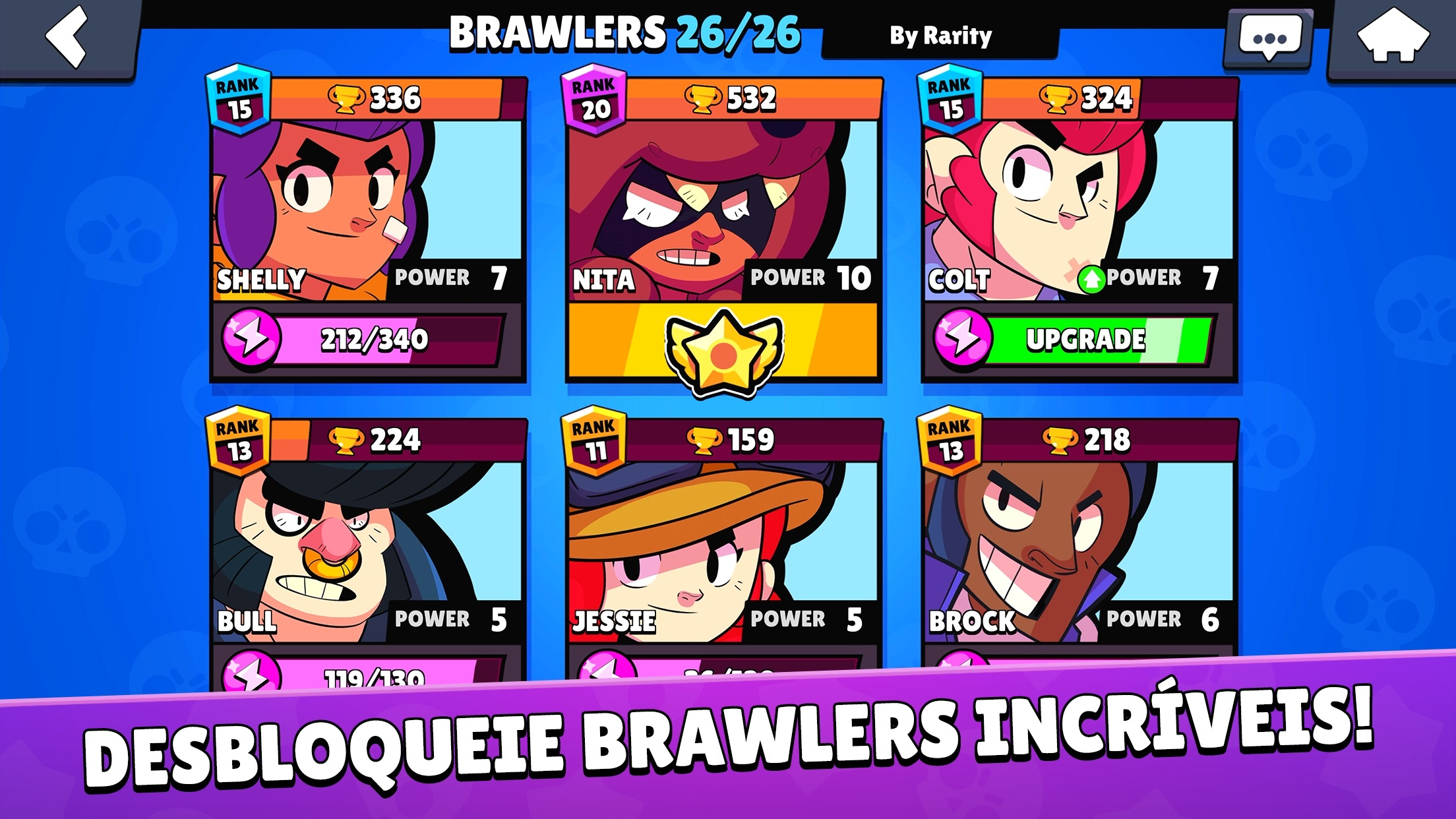 Screenshot do app Brawl Stars