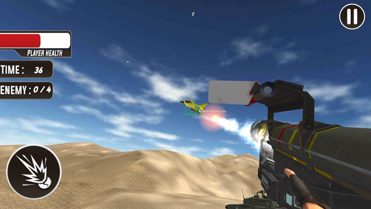 Jet Sky Fighter Modern Combat screenshot-1