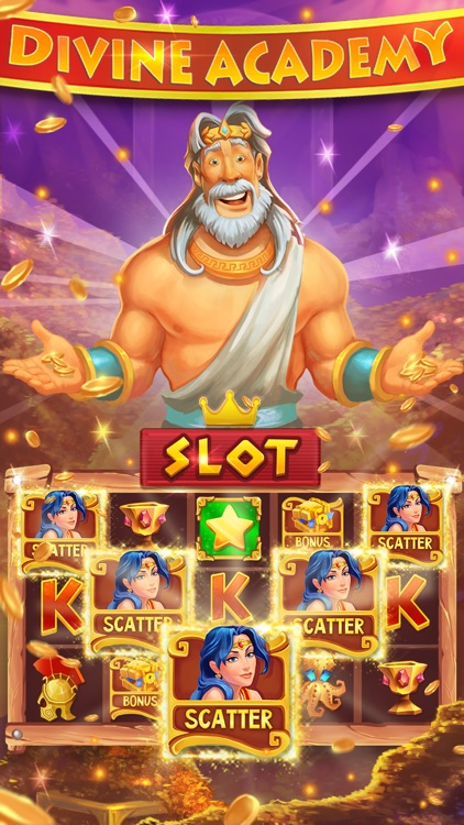 Divine Academy Casino: Slots