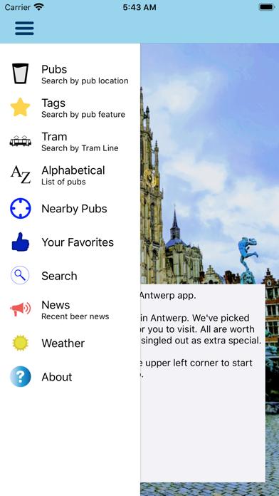 Beer Guide Antwerp screenshot one