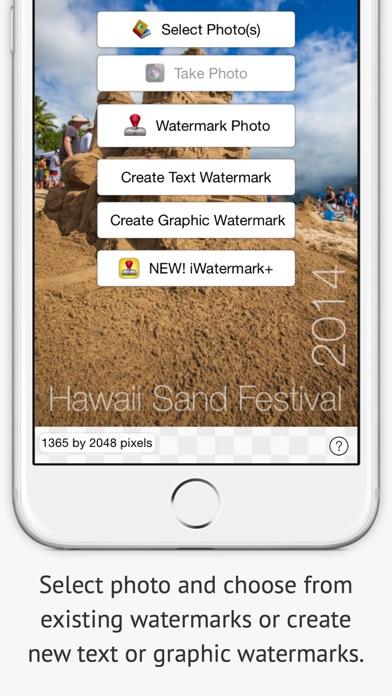 Iwatermark review screenshots
