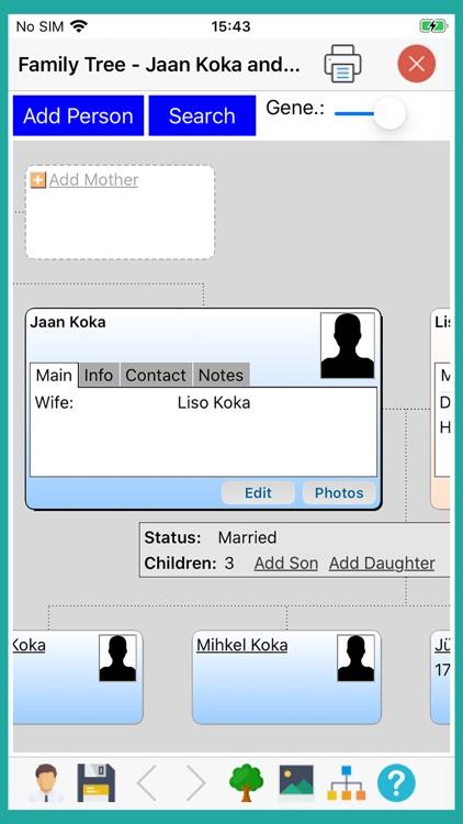 Family Tree - Builder